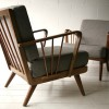 Pair of Grey 1950s Chairs2