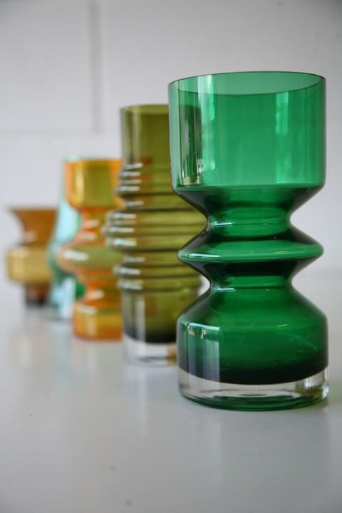 Vintage Riihimaki Vases