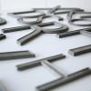 09 Vintage Aluminium Shop Letters Gill Sans Font 1
