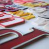 15 Vintage Plastic 1960s Shop Letters 1