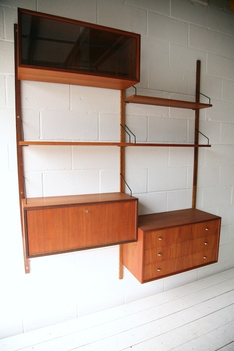 1950s Teak Shelving System by Poul Cadovius2