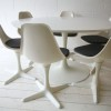 1960s Dining Table and 6 Chairs by Arkana1