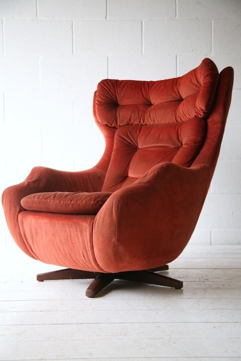 1960s Parker Knoll Statesman Chair