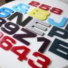 21 Vintage Plastic Shop Letters 2