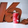 26 Wooden Vintage Shop Letters Doric Font 4