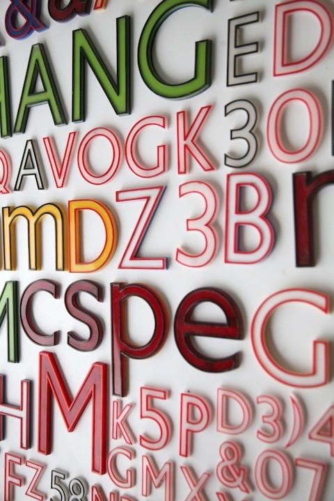 29 Vintage Plastic Shop Letters Gill Sans Font