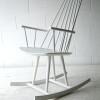 Vintage Danish Rocking Chair