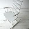 Vintage Danish Rocking Chair2