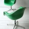 Vintage Fibreglass Desk Chair by Charles Eames for Herman Miller1