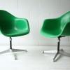 Vintage Fibreglass Desk Chair by Charles Eames for Herman Miller2
