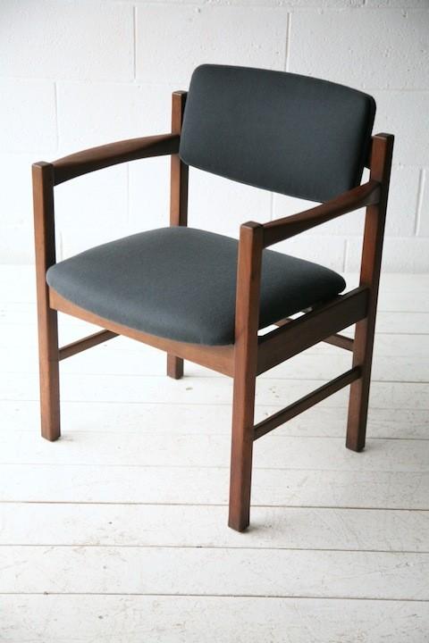 Vintage Teak Desk Chair