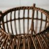 Vintage Wicker Stool by Franco Albini2