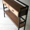 Walnut and Ash Bookcase1