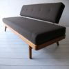 1950s Brown Daybed