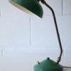 1950s Green Brass Desk Lamp2