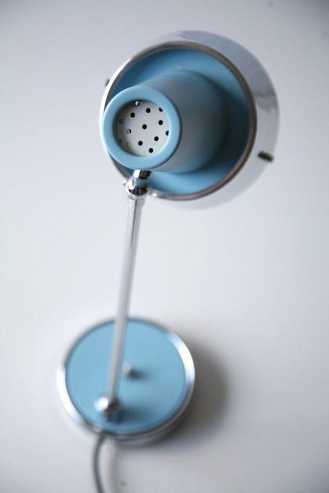 1960s Blue Italian Desk Lamp2