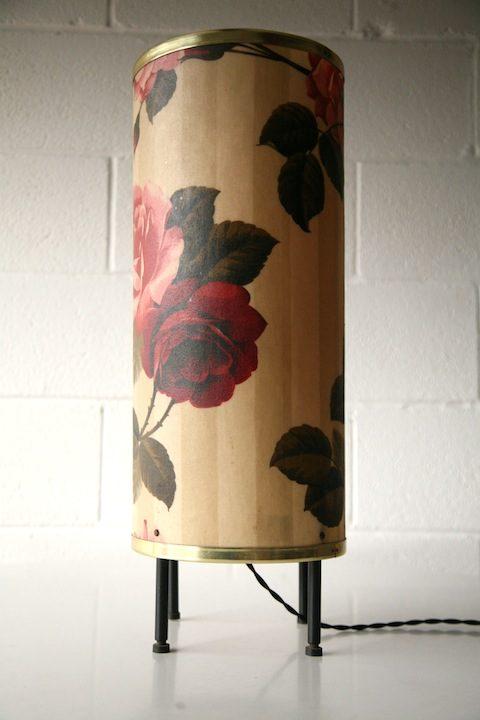 1960s Fibreglass Floor Table Lamp