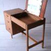 1960s Oak Stag Dressing Table Desk 5