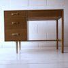 1960s Oak Stag Dressing Table Desk