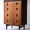 1960s Rosewood and Teak Chest of Drawers by Elliots of Newbury1