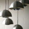 1970s Aluminium Ceiling Light 3