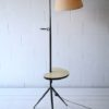 Large 1950s Floor Lamp with Side Table 2