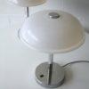 Pair 1970s Chrome Plastic Table Lamps2