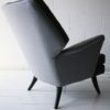 Vintage 1950s 'Escort' Armchair and 'Oracle' Stool by Howard Keith UK 5