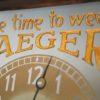 Vintage Jaeger Advertising Clock 3