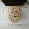Vintage Jaeger Advertising Clock 6