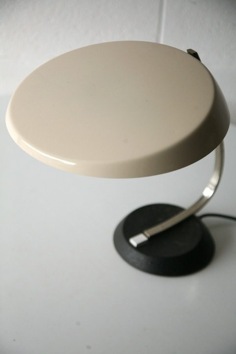 Cream Desk Lamp by Hillebrand2