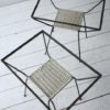 Pair of 1950s Glass Side Tables 1