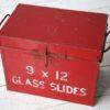 Set of 9 Vintage Glass Road Warning Slides 3