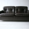 Vintage Brown Leather 2 Seater Sofa by Vatne Mobler1