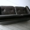 Vintage Brown Leather 2 Seater Sofa by Vatne Mobler3