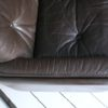 Vintage Brown Leather 3 Seater Sofa by Vatne Mobler3
