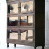 Vintage Glass Bookcase by Minty