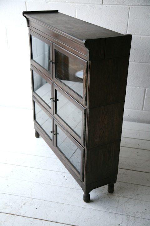 Vintage Glass Bookcase by Minty1
