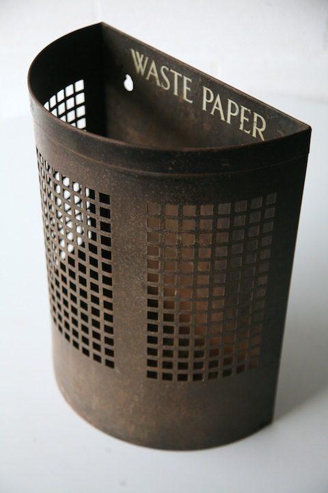 Vintage Waste Paper Bin