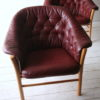 1960s Leather Chairs by G Mobel