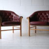 1960s Leather Chairs by G Mobel2
