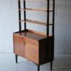 1960s Teak Shelving Unit + Cabinet b