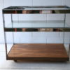 Chrome and Rosewood Trolley by Merrow Associates 1