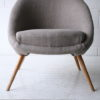 Grey 1950s Side Chair2