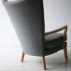Howard Keith 1950s Grey Chair 2
