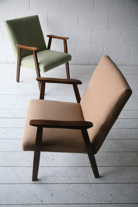 Pair of 1950s Side Chairs3