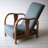 1930s Oak Slipper Chair1