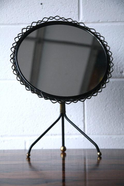 1950s Modernist Mirror