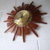 1960s Teak Anstey & Wilson Clock1