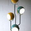 1970s Blue Yellow Floor Lamp